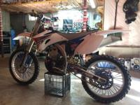 Up for sale I have a pristine condition 08 yz250f has