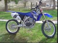 I've got a 2008 Yamaha YZ450F brand new condition. I