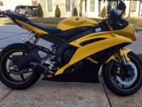 2008 yamaha r6 limited edition, not one scratch, brand