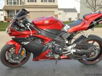 2008 YAMAHA R1 AND IT'S FOR SALE NOW. THIS BIKE IS ONE