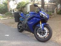 I am selling my 2008 Yamaha R1. The bike is in