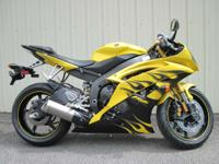 The YZF-R6 is the most advanced manufacturing