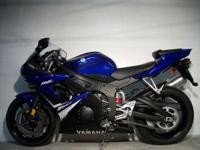 Are you ready for this A 2008 R6 Yamaha Team Blue with