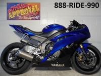 2008 Yamaha R6 Sport Bike for sale in Racing Blue! Only