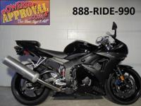 2008 Yamaha R6 Raven Edition crotch rocket for sale
