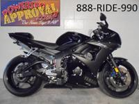 2008 Yamaha R6 For Sale Only $149. Per Month! Raven