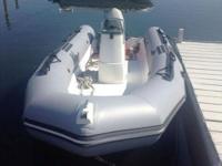 2008 Zodiac Pro 600 Boat lies in Mystic,