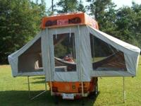 2008 Aspen Ambassador bike camper, 2 beds, consists of