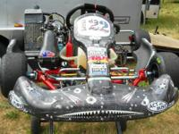 This is a very nice kart for a 9-12 year old to go