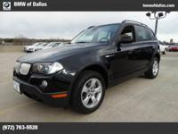 Have a look at this gently-used 2008 BMW X3 we recently