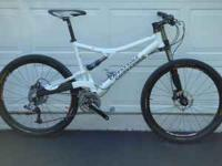 I am selling my 2008 Cannondale Rush 4 SL. The size is