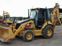 Container 4wd Loaders Preowned. 2008 Caterpillar 420E