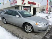 08 CHEVY IMPALA LT SILVER WITH ONLY 77K MILES 1-OWNER