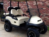 "2008 Club Car Precedent Tan 2011 Batteries 6"" Lift"