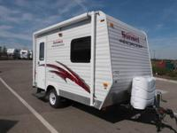 Used 2008 Cozy Trail 14 Travel Trailer   Very small and