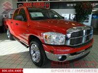 This 2008 Dodge Ram 1500 Sport Quad Cab has the ability