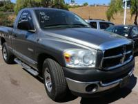 CARFAX 1 OWNER . Ram 1500 SXT and 3.7L V6. 6 speed