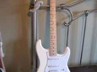 2008 Fender Stratocaster made in Mexico. Has HSS pickup