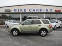 Options Included: N/A2008 Ford Escape XLT, 4 Cylinder