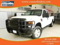 2008 White Ford F250 Super Duty For Sale in