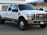 Oxford White Clearcoat 2008 Ford F-450SD King Ranch DRW