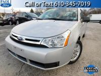 **ONE OWNER**CARFAX BUYBACK GUARANTEE** 2008 Ford Focus
