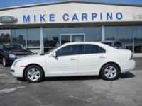 Options Included: N/A2008 Ford Fusion SE, 4 Cyl Engine,