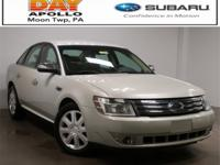 2008 Ford Taurus Limited Oxford White Clearcoat Taurus
