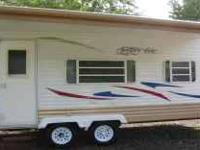 Very rarely used 2008 Ameri Lite 21 ft camper trailer