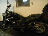 2008 Harley Davidson Fat Bob. Has 15,000 miles and