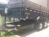 2008 Heavy Duty Load-Trail, Dump Trailer. Double 7,000
