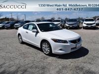 3.5L V6 Engine! Ivory Leather Interior! AM/FM/XM/CD