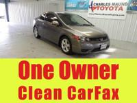 Carfax One Owner, CLEAN CARFAX, and Power moonroof.