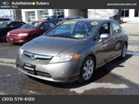 This 2008 Honda Civic Sdn LX is offered to you for sale