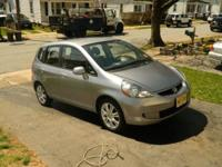 for sale is a 2008 honda fit in great shape runs and