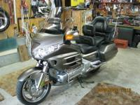 2008 honda goldwing,original owner,excellent condition