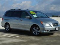Look at this beautiful Light Blue 2008 Honda Odyssey EX