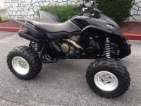 Fast and fun big-bore sport ATV, serviced with warranty