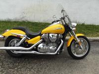 2008 Honda VTX1300C NOTHING MELLOW ABOUT THIS YELLOW!!!