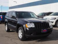 Black 2008 Jeep Grand Cherokee Laredo 4WD 5-Speed