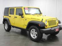 Wrangler Unlimited Rubicon and 4WD. Talk about an