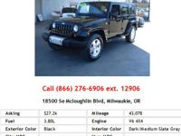This 2008 Jeep Wrangler Unlimited Sahara is offered
