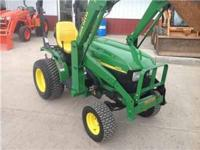 YOU ARE LOOKING AT 2008 JOHN DEERE 4010 MFWD COMPACT