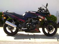 2008 Kawasaki Ninja 500R Great on gas with out the lack