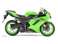 A true race winner the Ninja ZX-6R sportbike captured a