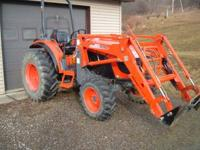 LISTING FOR A FRIEND A 2008 KIOTI DK45S 4X4 TRACTOR AND