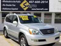 2008 LEXUS GX 470 4WD - 155K MILES 3 OWNER 0 ACCIDENTS