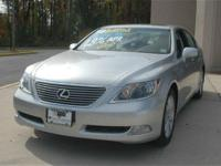 This 2008 Lexus LS 460 4dr Sedan features a 4.6L V8 SFI