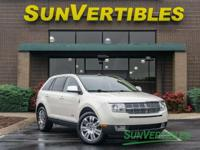 This is a 2008 Lincoln MKX with Navigation, Elite