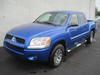 This outstanding example of a 2008 Mitsubishi Raider LS